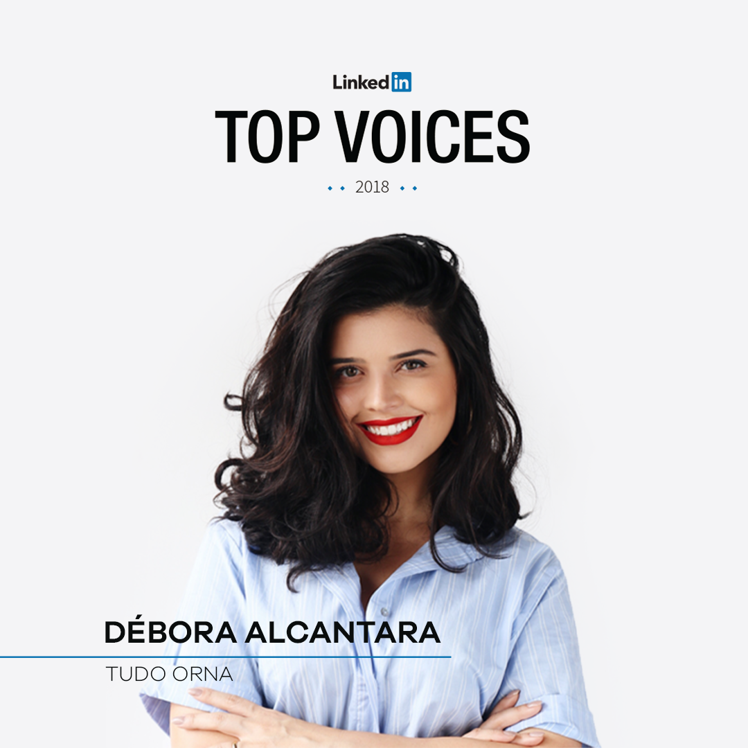 debora alcantara top voice linkedin 2018